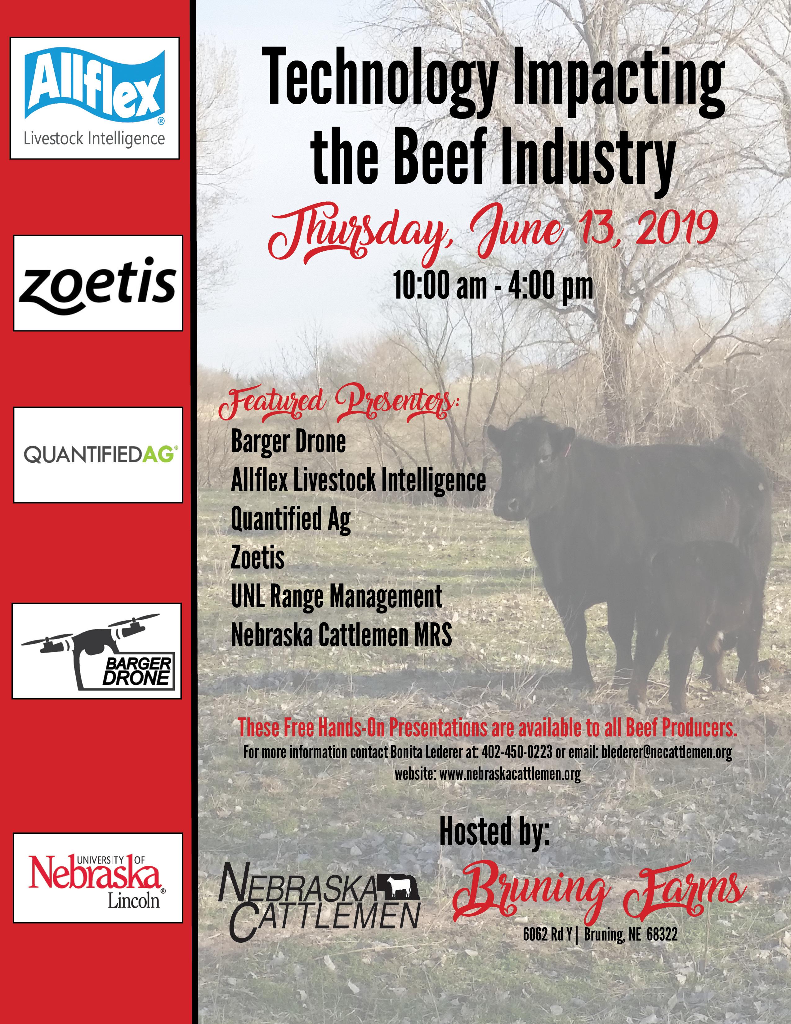 Neb Cattlemen Tech Day Flyer