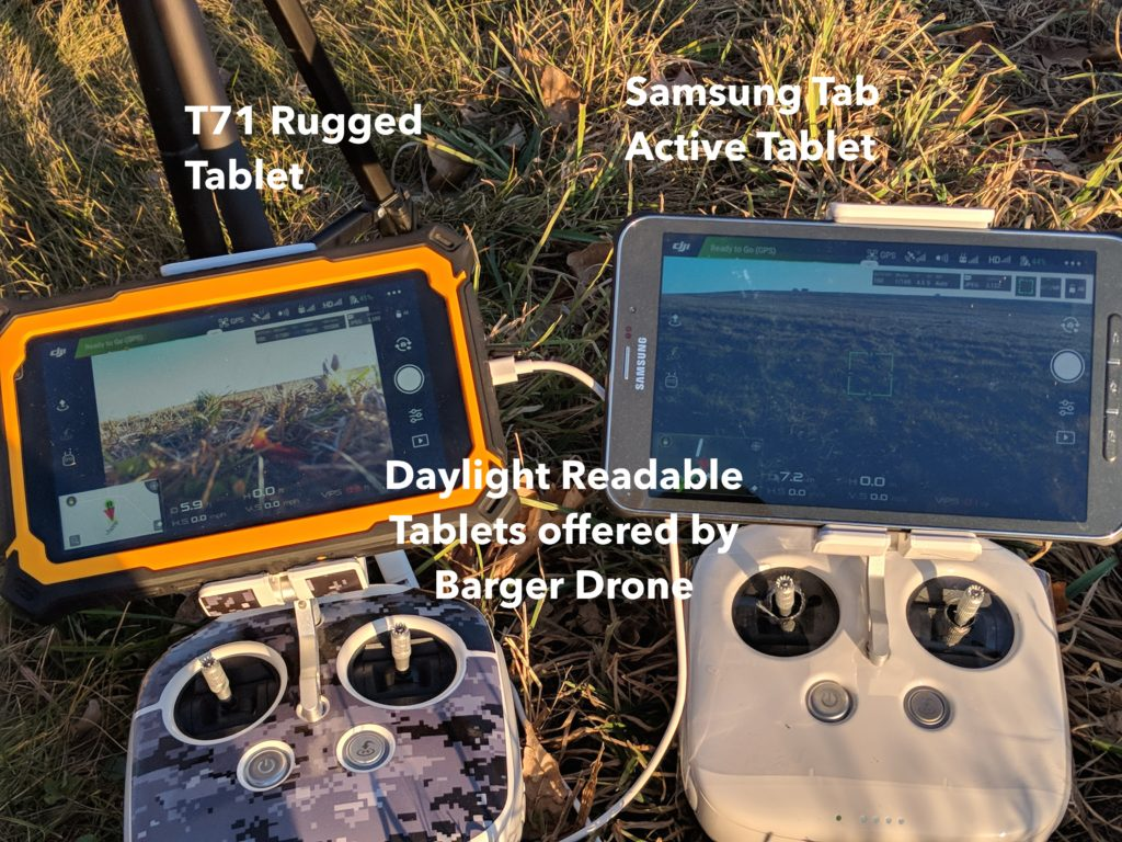 Daylight Readable Tablets